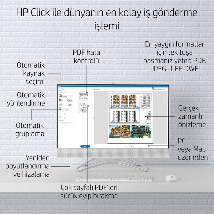 HP DESİGNJET STUDİO STEEL 24 İNC (A1) YAZICI